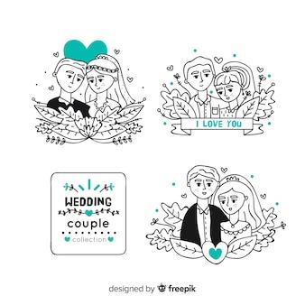 Wedding couple collection
