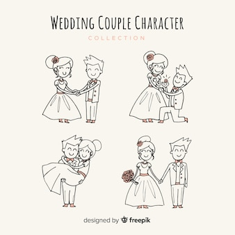 Wedding couple collection