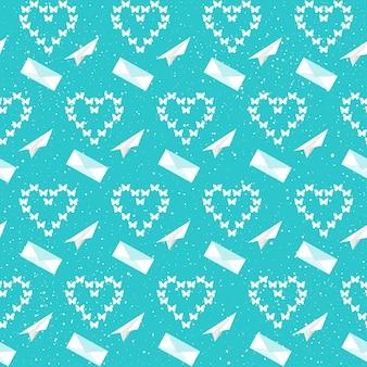 結婚式の装飾。結婚式のカード、招待状、壁紙、アルバム、スクラップブック、休日の包装紙、織物、衣服、tシャツなどのブライダルシームレスパターンの背景