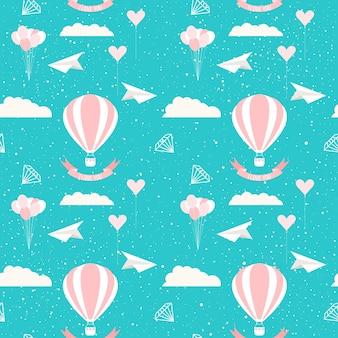 웨딩 장식입니다. 웨딩 카드, 초대장, 벽지, 앨범, 스크랩북, 휴일 포장지, 섬유 직물, 의류, 티셔츠 등의 신부 원활한 패턴 배경