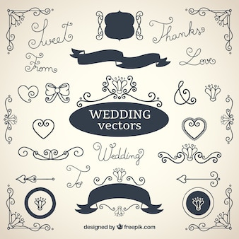 Decorazioni matrimonio collezione