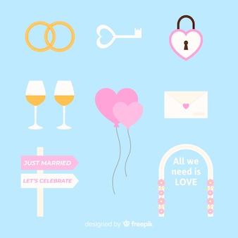 Wedding element collection