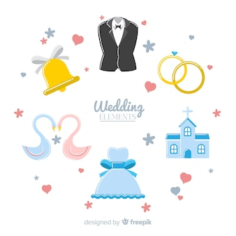 Wedding element collection
