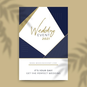 Wedding event 2021 template