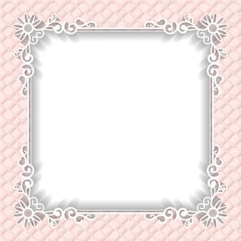 Wedding frame background paper