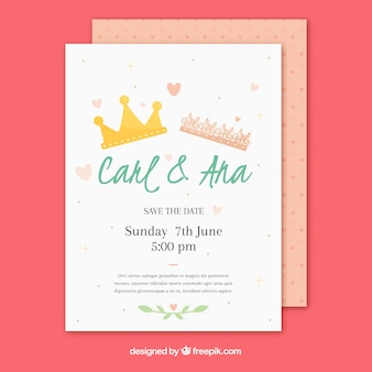 invitation letter sample crown vectors photos and psd files free 21241