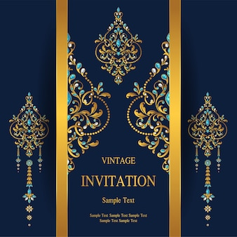 Wedding Invitation card templates.