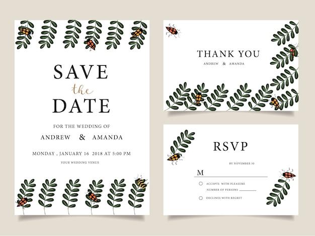 Wedding invitation cards,thank you card, wedding stationery