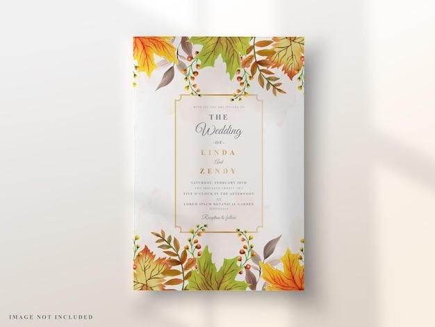 Свадебные приглашения элегантный цветочный дизайн