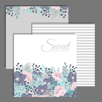 Wedding invitation set.