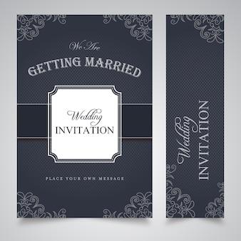 Свадебный шаблон приглашения
