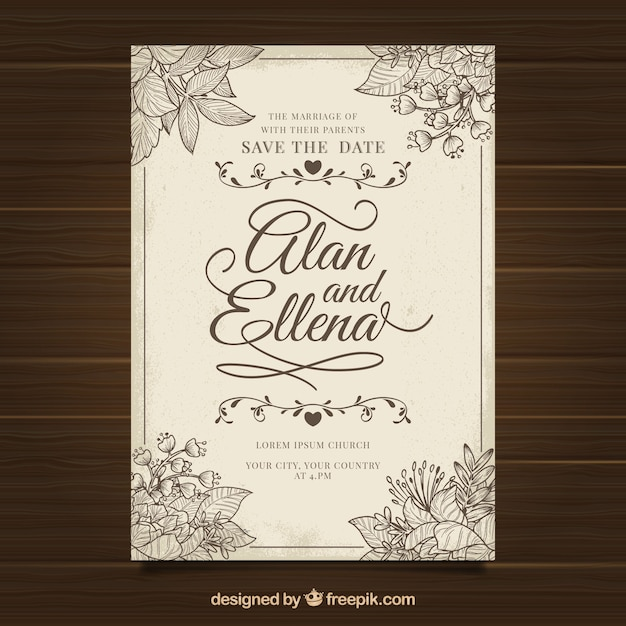 wedding welcome letter template word invitation card vectors photos and psd files free download