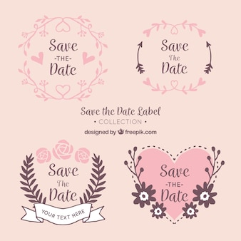 Wedding label collection
