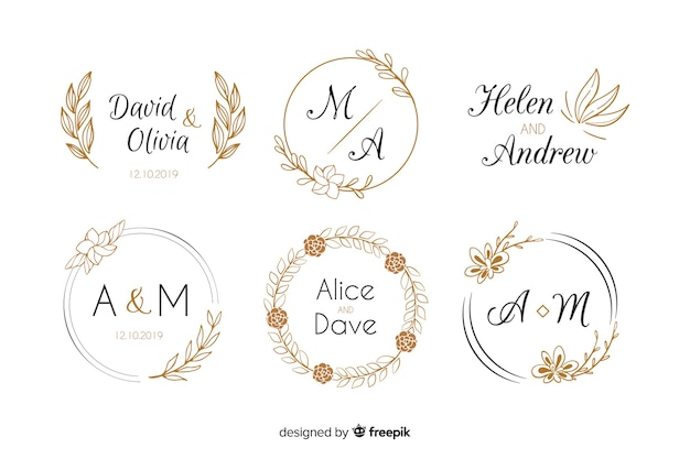 2 619 Wedding Monogram Images Free Download