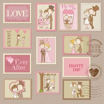 결혼식 우표