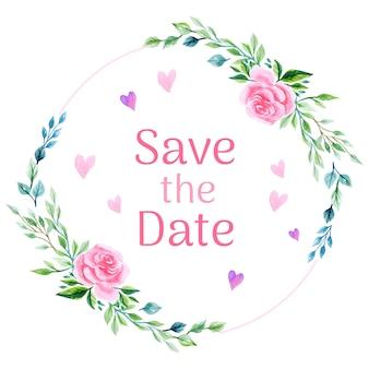 Wedding rose background
