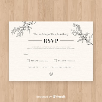 rsvp vectors photos and psd files free download