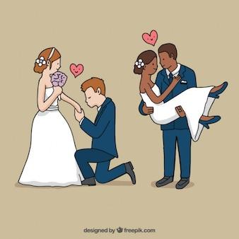 Wedding situations design