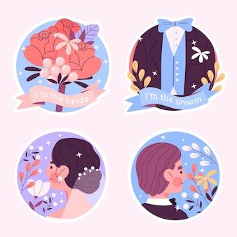웨딩 스티커 컬렉션