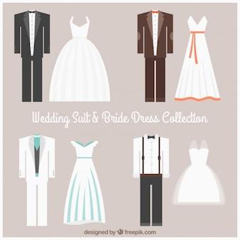 결혼식 한 벌과 신부 드레스 컬렉션