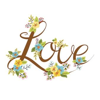 Wedding or valentines day design element