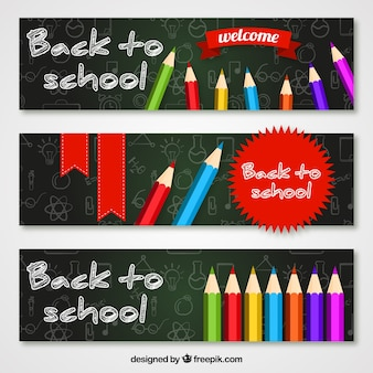 Welcome back to school banners pack