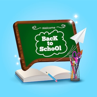 Welcome back to school ready for study