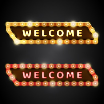 welcome  banners deisgn