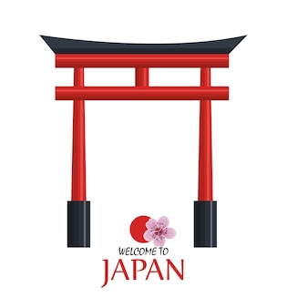 Welcome japan icon