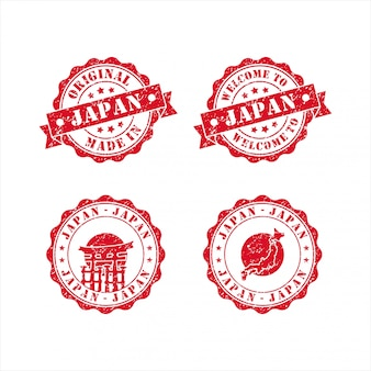 Welcome to japan stamp set