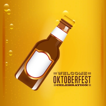 Welcome oktoberfest beer festival