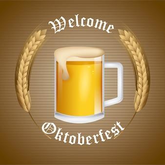 Welcome oktoberfest beer festival