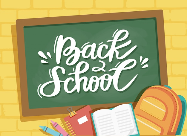 Welcome to school illustration