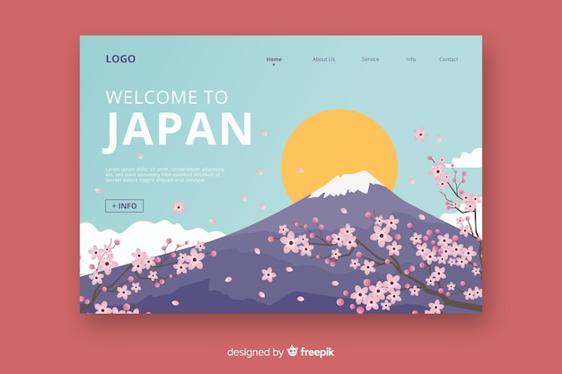 일본 방문 페이지에 오신 것을 환영합니다