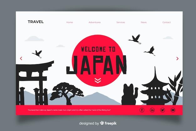 日本ランディングページへようこそ