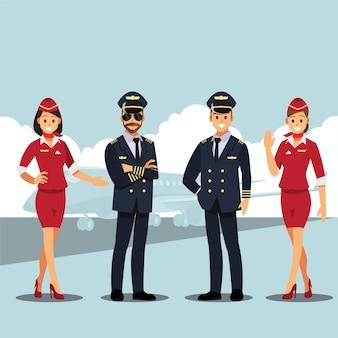 비행기 여행에 오신 것을 환영합니다