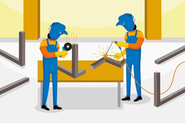 溶接工の職業