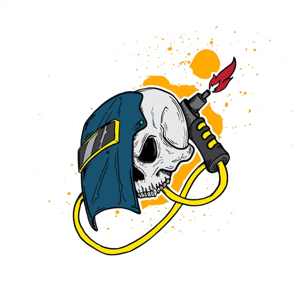 Welder skull profession