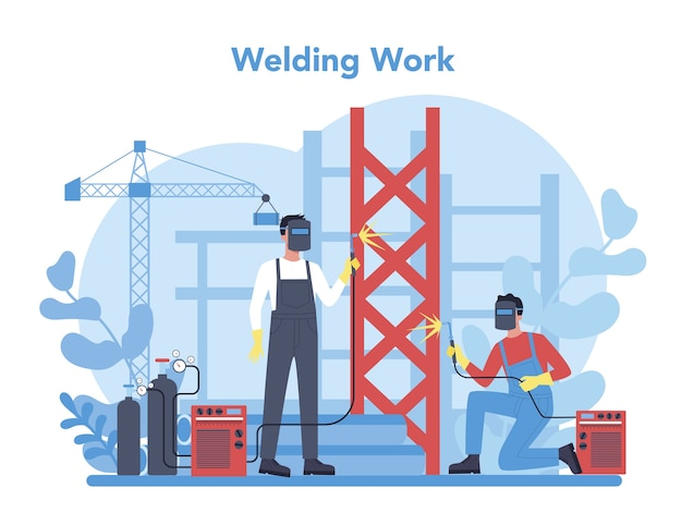 Welder and welding service concept