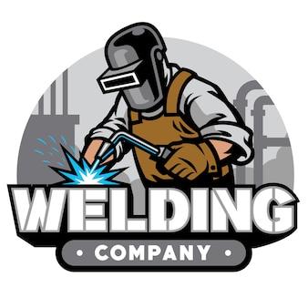 Welding company badge
