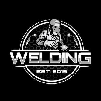 Welding logo template