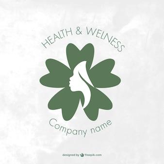 Wellness and health spa logo