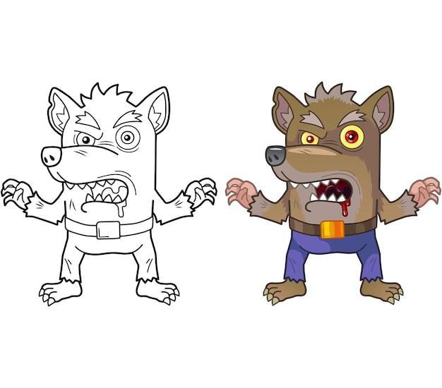 늑대 인간 괴물