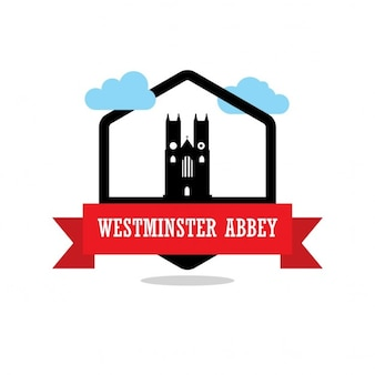 Westminster abbey, silhouette