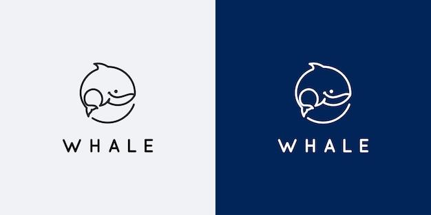 고래 로고