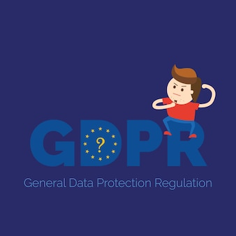 What is gdpr banner illustration