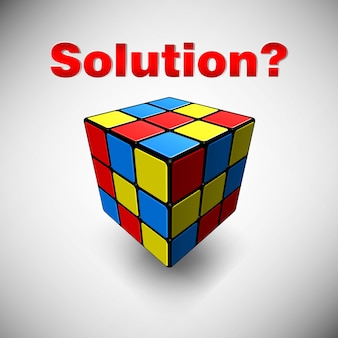 What is the solution cube