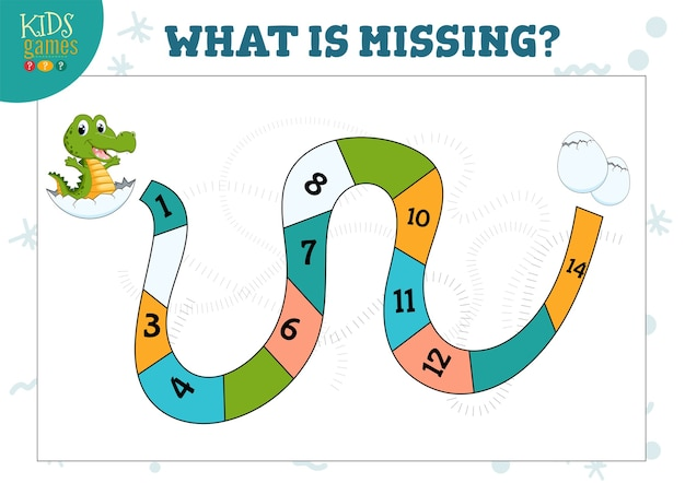 What number is missing preschool kids math game and quiz