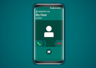 Whatsapp Incoming Call Screen