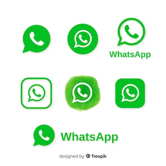 Коллекция значков whatsapp